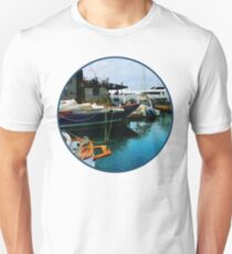 Docked Boats In Newport RI T-Shirt