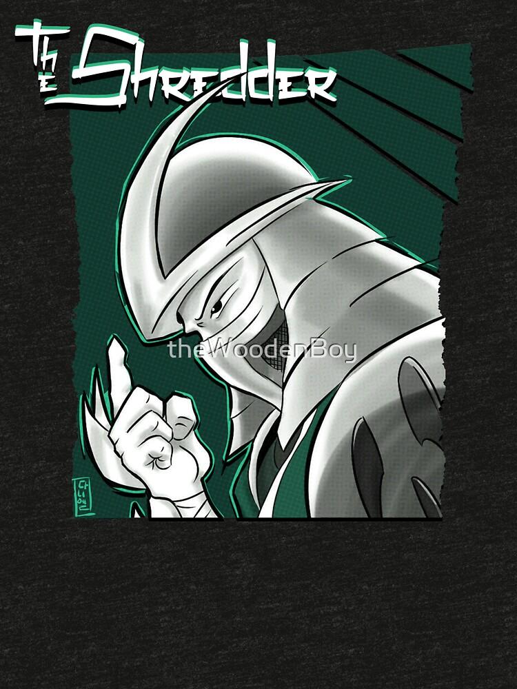 The Shredder - Technodrome Control-screen Blue-Green   by theWoodenBoy