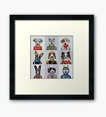 dogs Framed Print