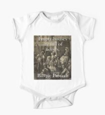Empty Houses Are Full - Basque Proverb Kids Clothes