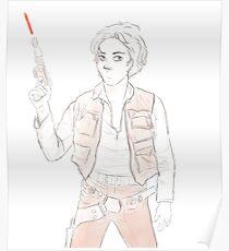 Han Winchester - Sam Solo Poster