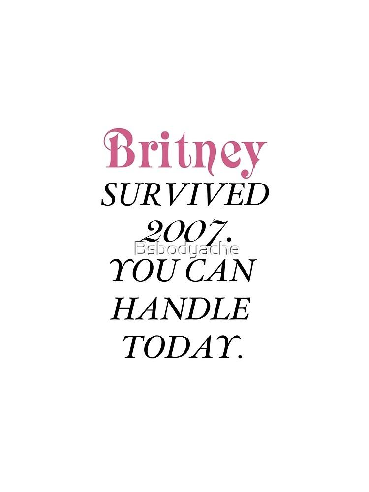 Britney überlebte, Britney. von Bsbodyache