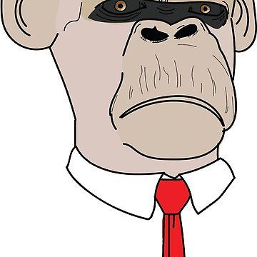 Office Chimp by Bro-Sis