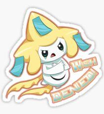 Wish Denied - Pokemon - Jirachi ! Sticker