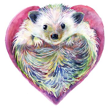 HedgeHog Heart by dotsofpaint