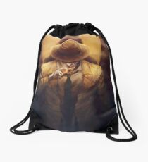 The Synth detective Drawstring Bag