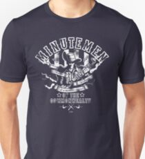 Minutemen Of The Commonwealth - negative colors T-Shirt