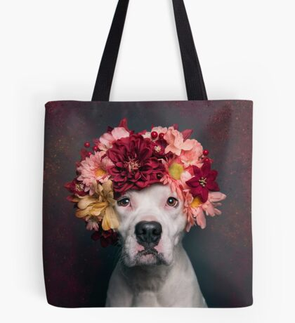 Flower Power Lizzy Tote Bag