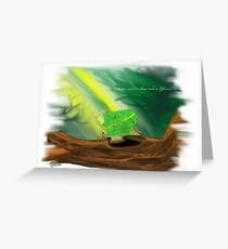 little things make a difference Greeting Card