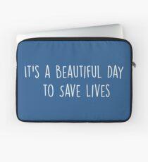 Es ist ein schöner Tag, um Leben zu retten - Multicolor Laptoptasche