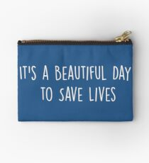 Bolso de mano Es un hermoso día para salvar vidas - Multicolor