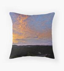 Gleaming Appalachia  Throw Pillow