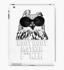 Hoot Hoot iPad Case/Skin
