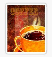 Coffee Cup Sticker