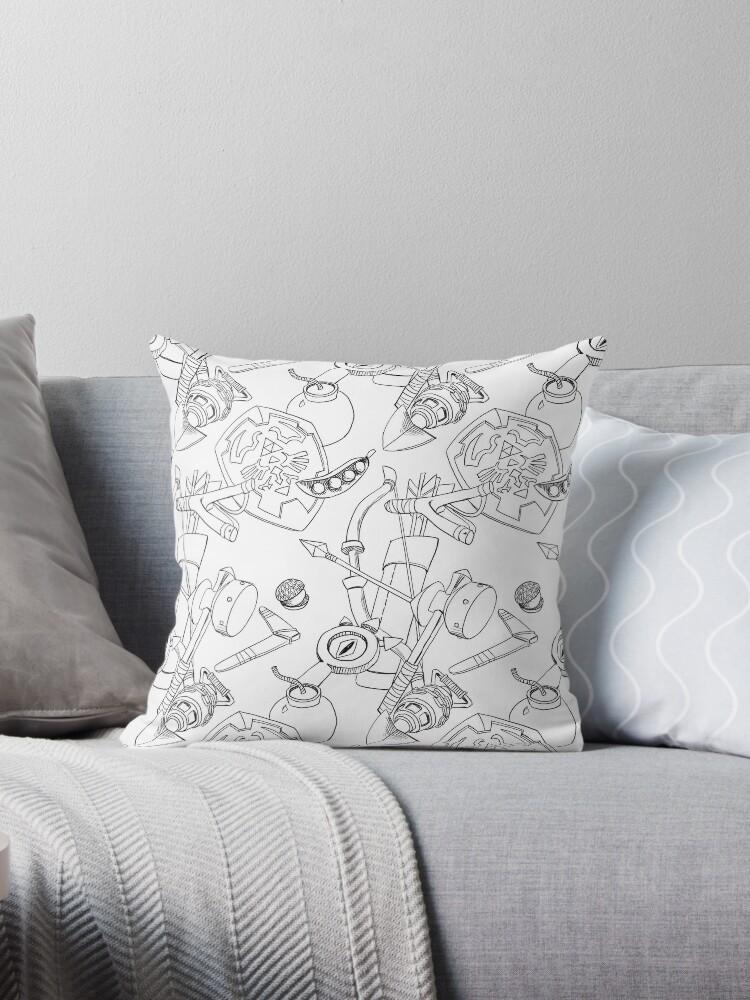 Zelda Throw Pillow :