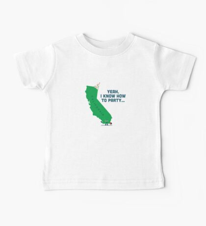 Character Building -  California, knows how to party… Kids Clothes