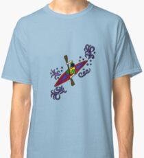 Fun Cool Kayaking Art Classic T-Shirt