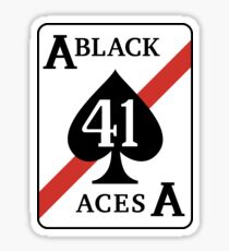 The Black Aces Sticker