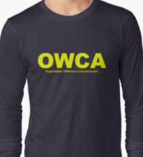 OWCA Organization Without A Cool Acronym - Phineas and Ferb Long Sleeve T-Shirt