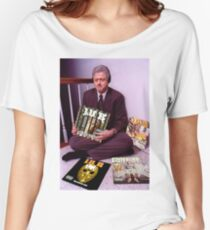 Bill Clinton listens to Lil B (Rare) Women's Relaxed Fit T-Shirt
