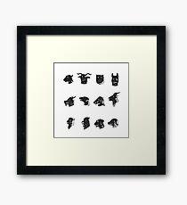 Chinese Zodiac Framed Print