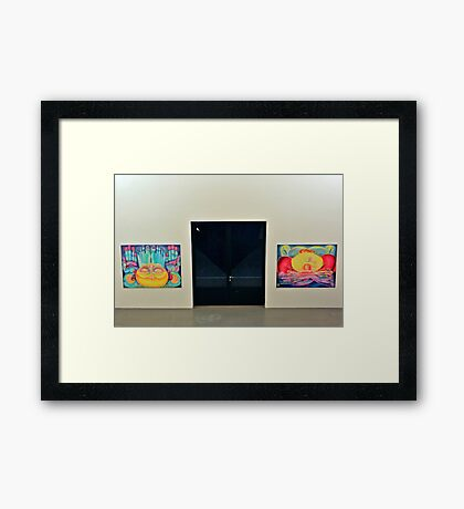 From dusk till dawn Framed Print