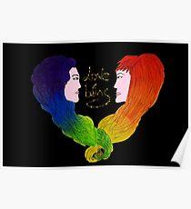 Love wins - LGBT+ - Pride  Poster