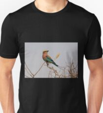 Lilac-breasted Roller Unisex T-Shirt