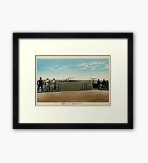 Vintage 1910 The Mailboat from the promenade, Ostend-Dover Framed Print