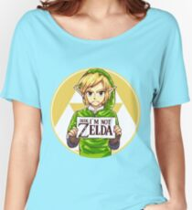 Dude, I'm Not ZELDA! Women's Relaxed Fit T-Shirt