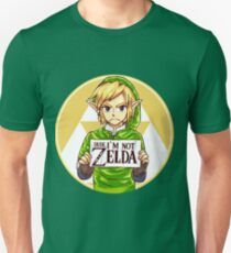 Dude, I'm Not ZELDA! Unisex T-Shirt