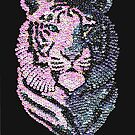 Sequined Tiger by Margaret Sanderson