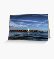 Alderney Sailing 2  Greeting Card