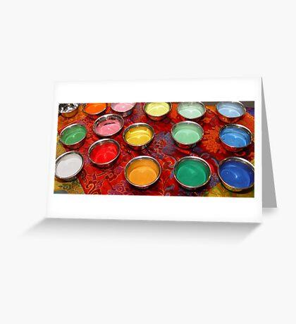 Mandala Sand Greeting Card