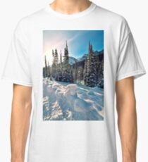 The Road To Spray Lakes, Alberta. Canada Classic T-Shirt