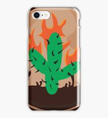 travis scott cactus la flame iPhone Case/Skin