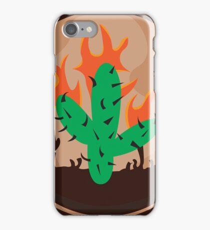 Iphone  Plus Flame Case