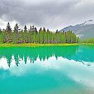 Bow River, Banff, Alberta, Canada by Laurast