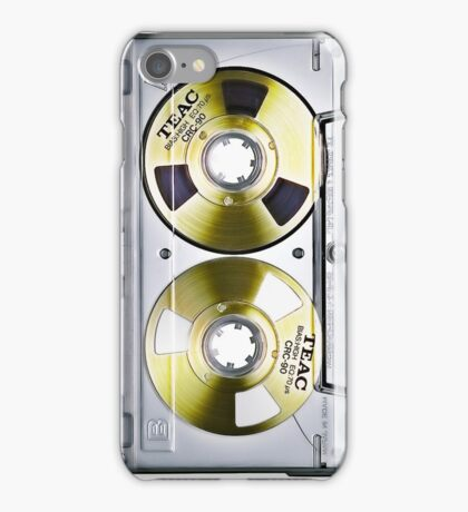 Music cassette tape iPhone Case/Skin
