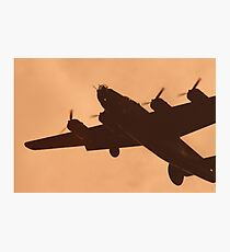 WWII Era B17 Flying Fortress Photographic Print