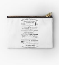 The Office: Dwight's Perfect Crime Studio Pouch