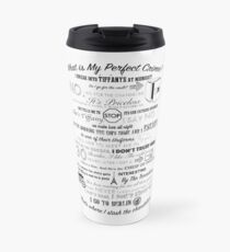 The Office: Dwight's Perfect Crime Travel Mug