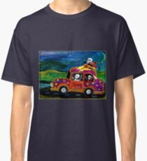 Day of the Dead hippies on a road trip Classic T-Shirt