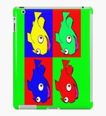 Fish warhol like iPad Case/Skin