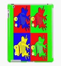 Frog warhol like iPad Case/Skin