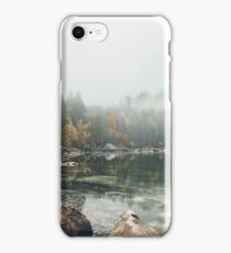 Lake serenity landscape photography iPhone Case/Skin