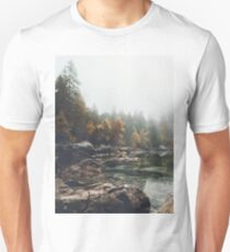 Lake serenity landscape photography Unisex T-Shirt