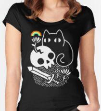 Cat & Stuff Women's Fitted Scoop T-Shirt