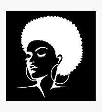Black Female Pride  Photographic Print