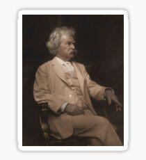 Mark Twain Colorized Sticker